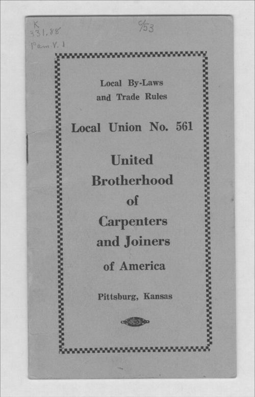 Local Union No. 561 United Brotherhood of Carpenters and Joiners of America - Page
