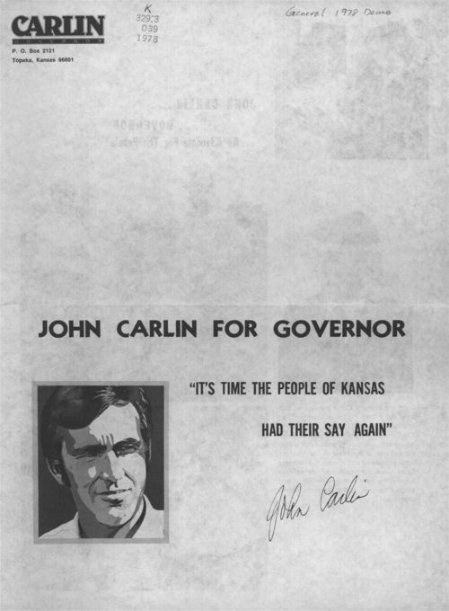 John Carlin for Governor - Page