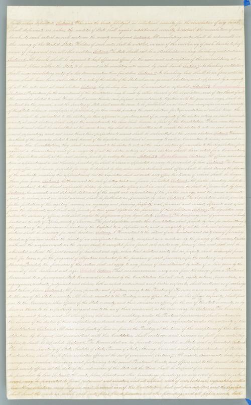 Wyandotte Constitution - Page