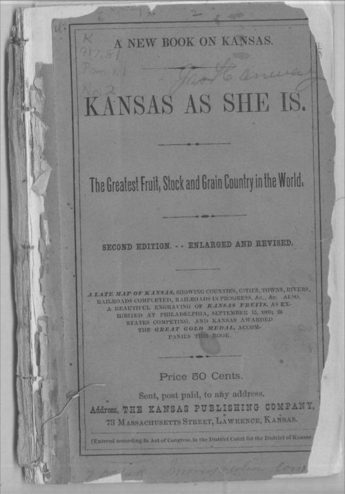Kansas as she is - Page