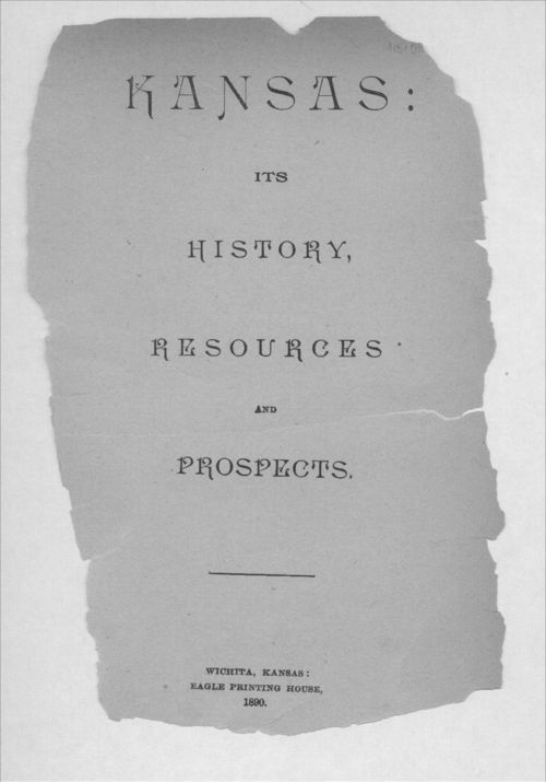 Kansas: Its history, resources and prospects - Page