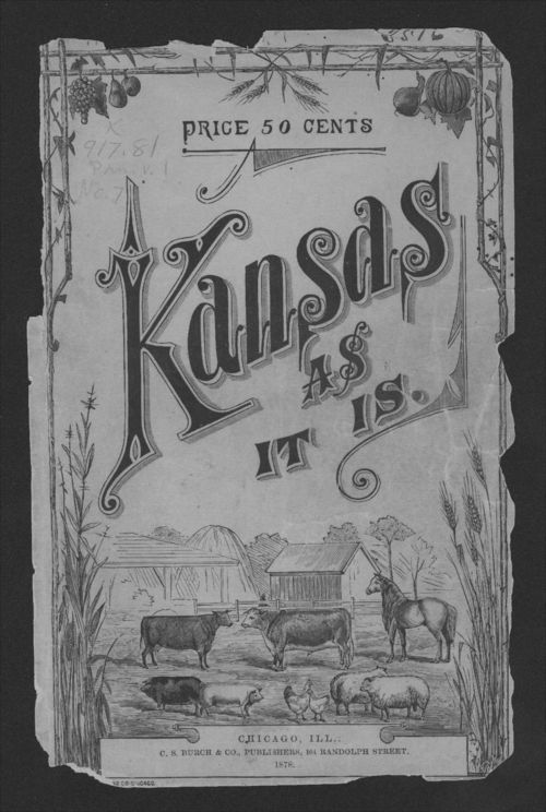 Kansas as it is. a complete review of the resources, advantages and drawbacks of the great central state - Page