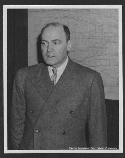 Photograph of William Lindsay White, between 1945 and 1960