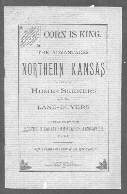 The advantages Northern Kansas offers to home seekers and land buyers - Page