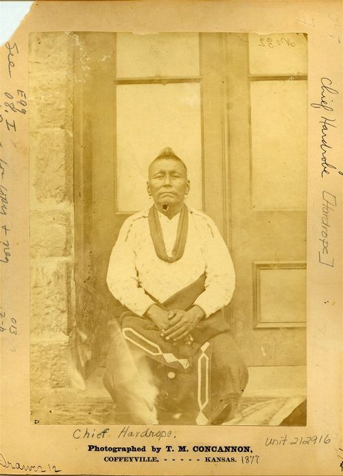 Hard Rope, Osage Indian Chief - Page