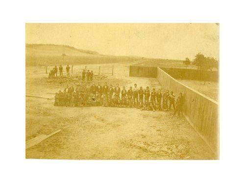 Osage Indian schoolboys, Pawhuska, Indian Territory - Page
