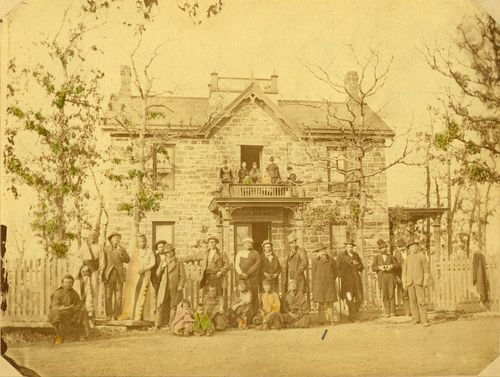 Osage Indian agent's residence, Pawhuska, Indian Territory - Page