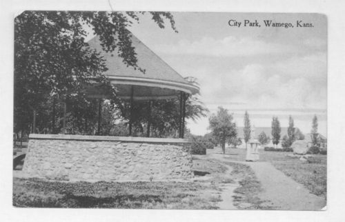 City Park, Wamego, Kansas - Page