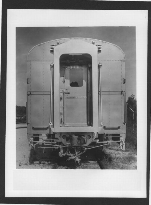 Atchison, Topeka & Santa Fe  Railway Company's Regal Court passenger car - Page