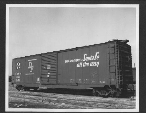 Atchison, Topeka & Santa Fe Railway Company's box car no. 11292 - Page