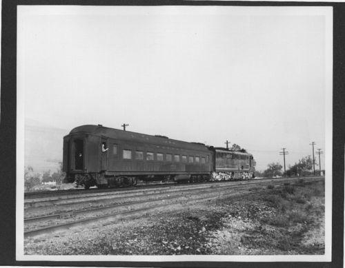Atchison, Topeka & Santa Fe Railway's train No 7, Devore, California - Page