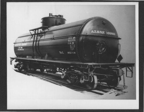 Atchison, Topeka & Santa Fe Railway tanker car - Page