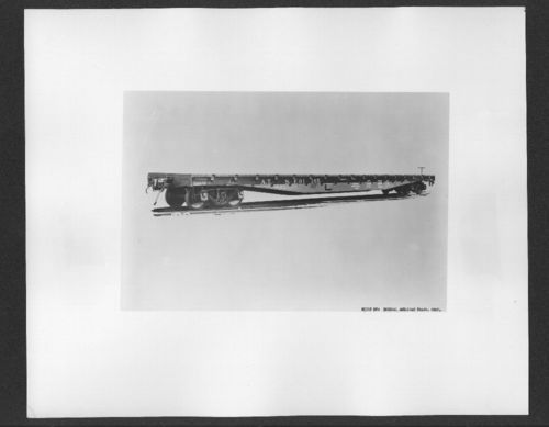 Atchison, Topeka & Santa Fe Railway flat car number 91165 - Page