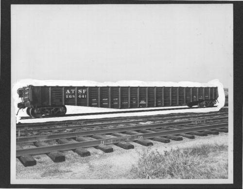 Atchison, Topeka & Santa Fe Railway Company gondola car, Topeka, Kansas - Page