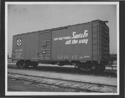Atchison, Topeka & Santa Fe Railway Company's boxcar no. 31243 - Page