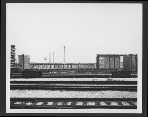 Atchison, Topeka & Santa Fe Railway's Ft-N class flat car - Page