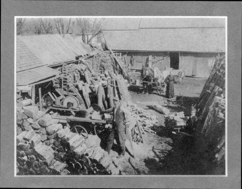 Saw mill, Beattie, Kansas - Page
