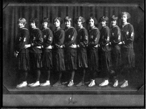 Randolph High School girls' basketball team, Randolph, Kansas - Page