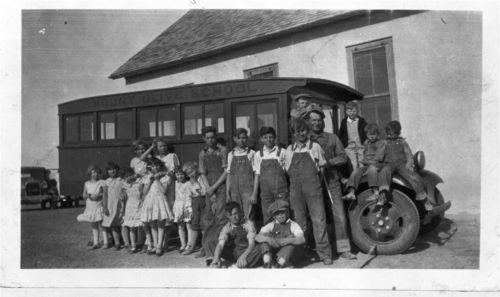Mount Olive School Bus in Greeley County, Kansas - Page