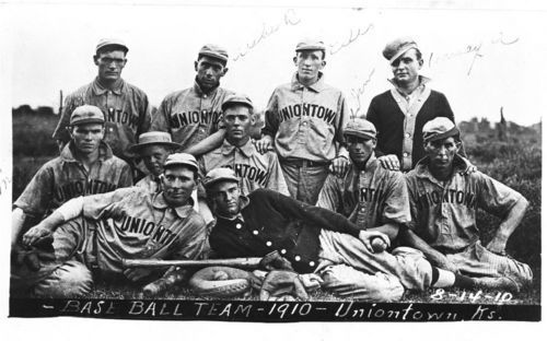 Baseball team, Uniontown, Kansas - Page