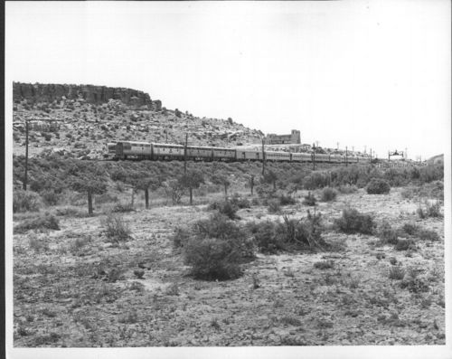 Atchison, Topeka & Santa Fe Railway Company's Super Chief, Grants, New Mexico - Page