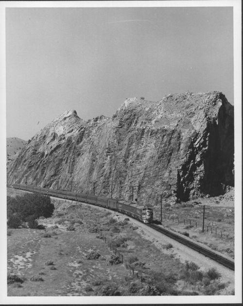 Atchison, Topeka & Santa Fe Railway Company's Super Chief, Cerrillos, New Mexico - Page