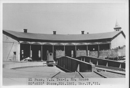 Atchison, Topeka & Santa Fe Railway Company roundhouse, El, Paso Texas - Page