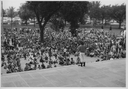 Anti-war rally, Topeka, Kansas - Page