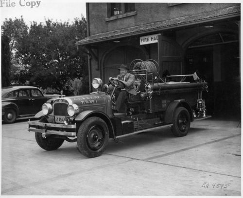 Atchison, Topeka & Santa Fe Railway Company's fire department, San Bernardino, CA - Page