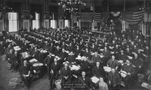 House of Representatives, Topeka, Kansas - Page