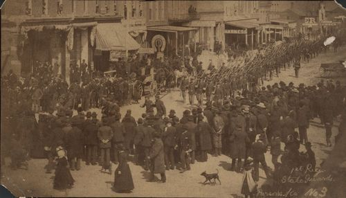 First Regiment State Guards, Parsons, Kansas - Page