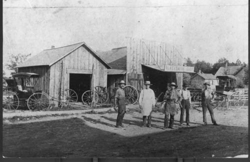 Blacksmith, Neodesha, Kansas - Page