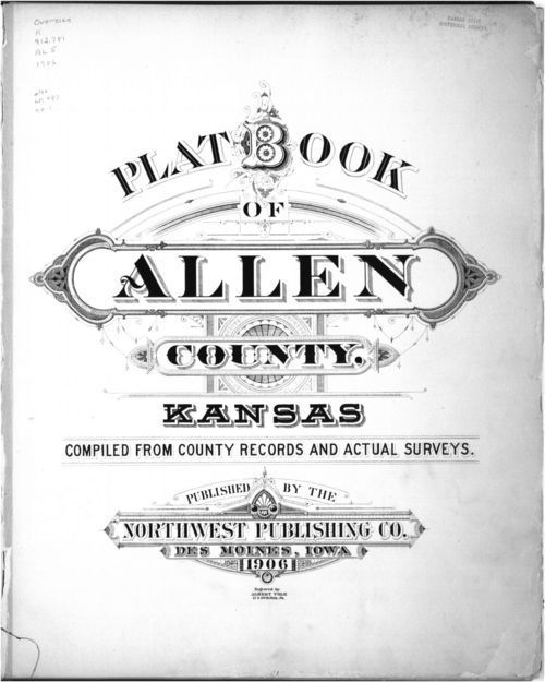 Plat book of Allen County, Kansas - Page