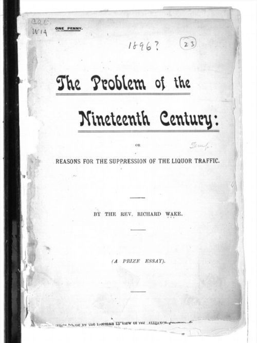 The problem of the nineteenth century - Page