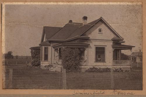 John and Myrtle Schleigh Matchett home, Summerfield, Kansas - Page