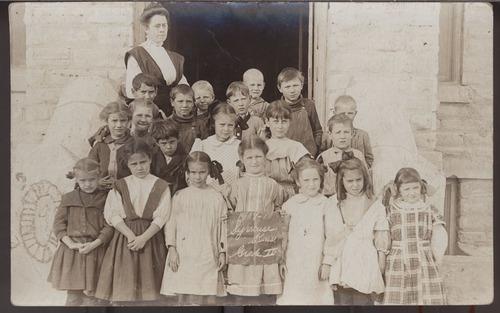 Second grade class, Syracuse, Kansas - Page