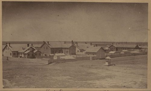 Photograph of Fort Dodge, 1879