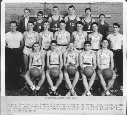 Boswell Junior High School basketball team, Topeka, Kansas - Page