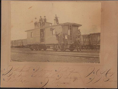 Kansas Pacifc Railroad caboose #1013, Junction City, Kansas - Page
