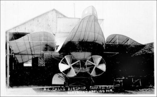 H.L. Call's airship built in Girard, Kansas - Page