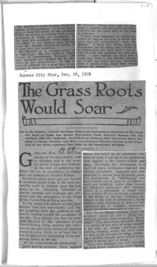 The grass roots would soar - Page