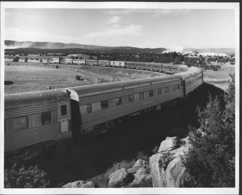Atchison, Topeka & Santa Fe Railway Company's Super Chief, New Mexico - Page