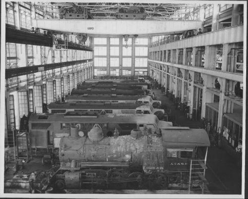 Atchison, Topeka & Santa Fe Railway Company shop, Cleburne, Texas - Page