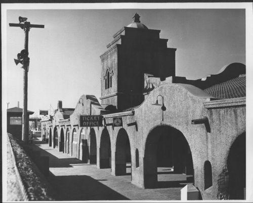 Atchison Topeka and Santa Fe Railway Company depot, Albuquerque, New Mexico - Page