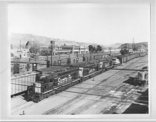 Atchison, Topeka & Santa Fe Railway Company yard and depot, Barstow, California - Page