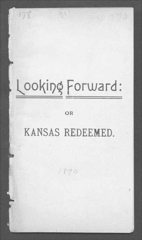 Looking forward: or Kansas redeemed - Page