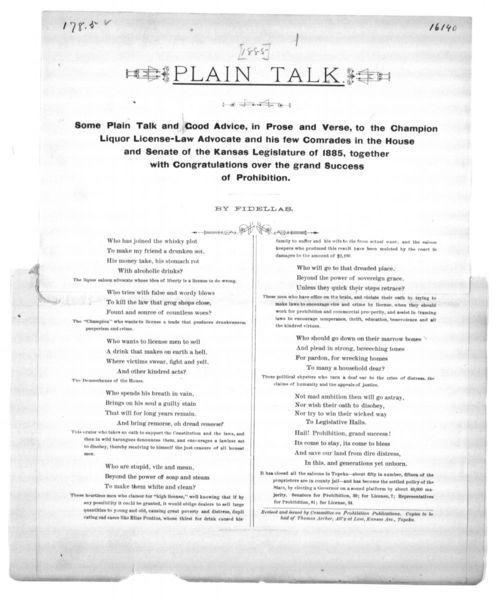 Plain talk - Page