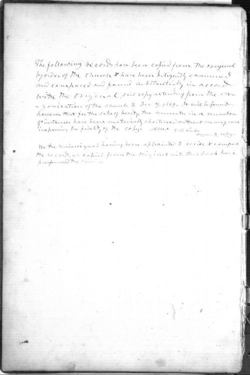 Records of the First Church of Christ in Wabaunsee - Page