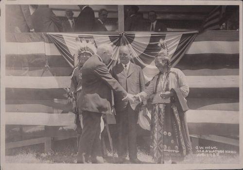 Benjamin S. Paulen and Charles Curtis, Pawnee, Kansas - Page
