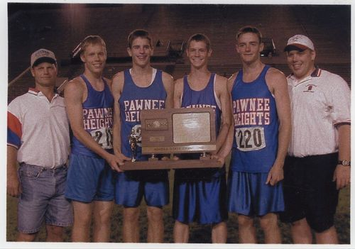Pawnee Heights High School track team, Garfield, Kansas - Page